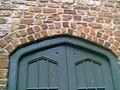 -2005-06-27 Tudor archway head, Fawsley Hall, Northamptonshire.JPG