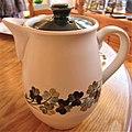 -2020-01-14 Tea pot, Denby Shamrock pattern, Cromer.JPG