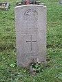 -2020-12-09 CWGC gravestone, G A Leeson, Royal Norfolk Regiment, Saint Nicholas, Salthouse.JPG