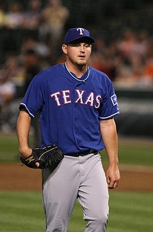 Matt Harrison (baseball) - Harrison with the Texas Rangers