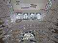 047 Biblioteca Popular, pg. dels Caputxins (Valls), instal·lació del Centenari, al vestíbul.jpg