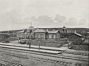 Achinsk - Achinsk train station in 1899