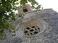 078 Església de Sant Pere (Púbol), rosassa.jpg
