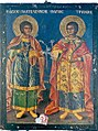07 Saint Pantaleon and Saint Tryphon Icon from Saint Paraskevi Church in Adam.jpg