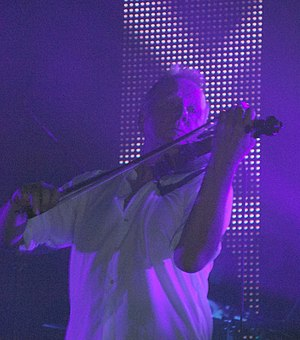 Billy Currie - Currie performing in 2009