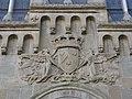 091 Església del convent de les Carmelites (Vic), escut de l'orde del Carme.jpg