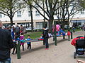 1. Mai 2013 in Hannover. Gute Arbeit. Sichere Rente. Soziales Europa. Umzug vom Freizeitheim Linden zum Klagesmarkt. Menschen und Aktivitäten (236).jpg