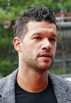 Michael Ballack German retired footballer