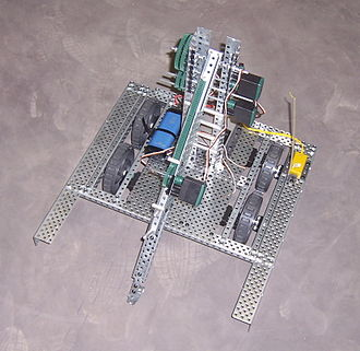 For Inspiration and Recognition of Science and Technology - A 2007 FTC robot