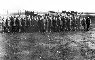 100th Aero Squadron - Image: 100th Aero Squadron Squadron and DH 4s