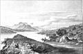 1087 album dauphiné, Laffrey (Isère), vue du Grand Lac, by AD cropped.jpeg
