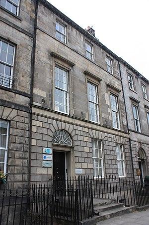 David Milne (Royal Navy officer) - Sir David Milne's house at 10 York Place, Edinburgh