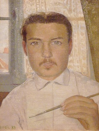 Maurice Denis - Image: 115 Maurice Denis Portrait de l'artiste à l'âge de 18 ans