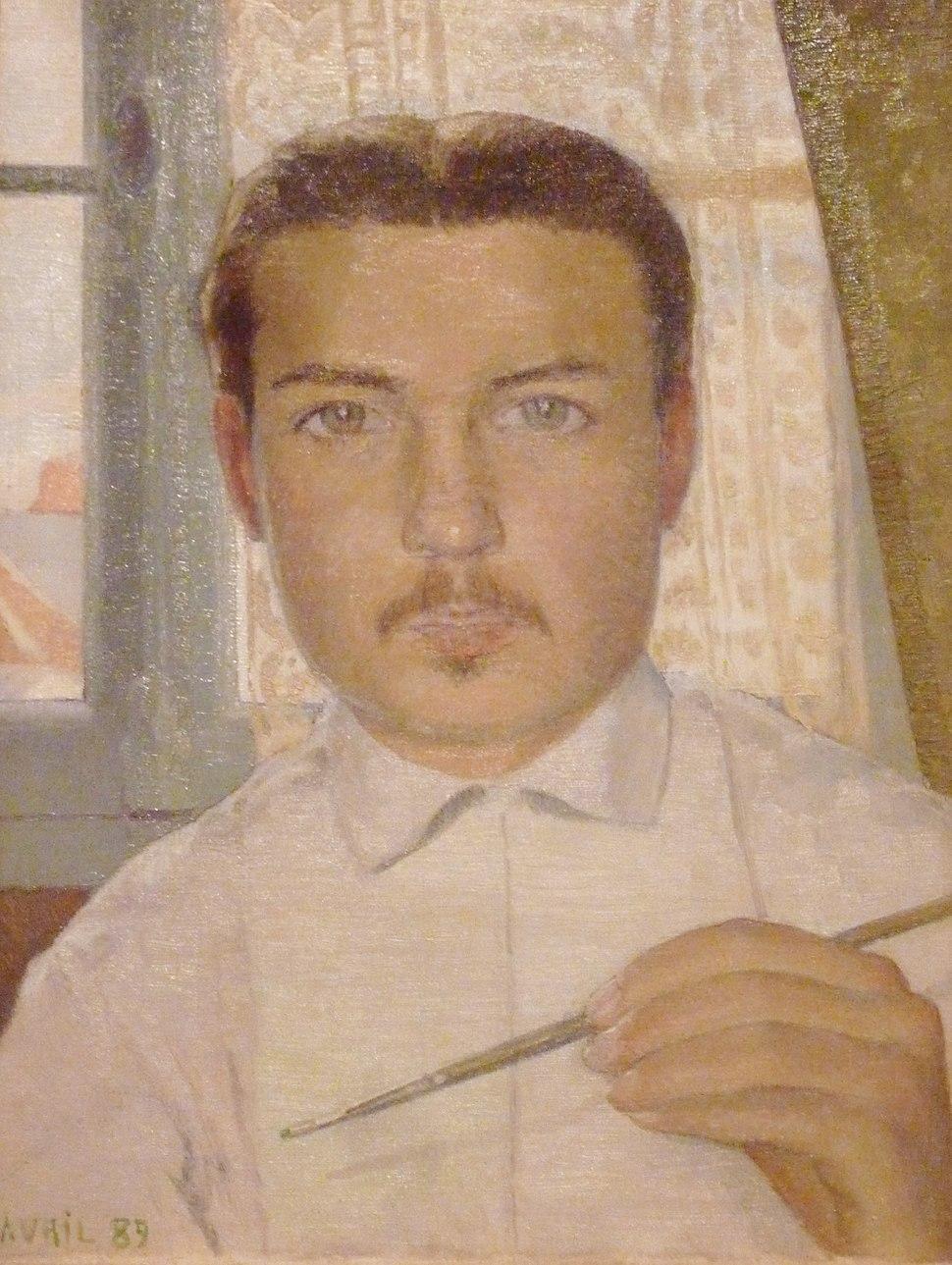 115 Maurice Denis Portrait de l'artiste à l'âge de 18 ans