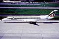 131bc - Alitalia Express Embraer ERJ145LR; I-EXMO@ZRH;11.05.2001 (5884241128).jpg