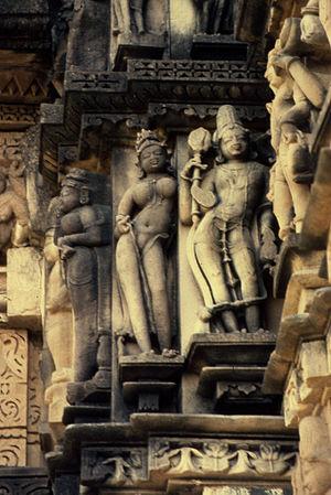 Devi Jagadambi Temple - Apsara, Devi Jagadambi Temple, Khajuraho, Madhya Pradesh, India.