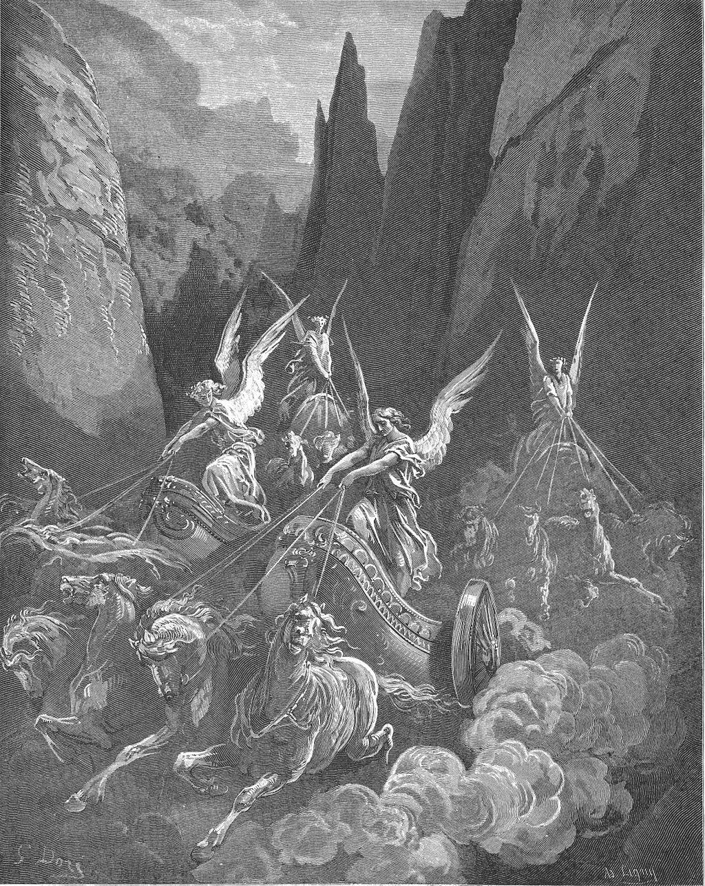네 병거의 환상 (귀스타브 도레, Gustave Doré, 1866년)
