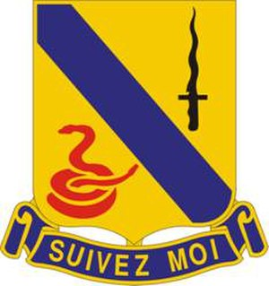 14th Cavalry Regiment - Image: 14Cav Regt DUI