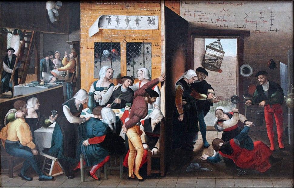 1537 Braunschweiger Monogrammist Bordellszene anagoria