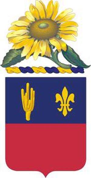 1st Battalion, 161st Field Artillery Regiment (United States) - 161st Field Artillery Regiment coat of arms