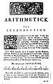 1729 Arithmetick p1 Kneeland Green Boston.jpg