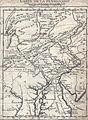1756 CARTE DE LA PENSILVANIE, tirée de État present de la Pensilvanie....jpg