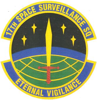 17th Space Surveillance Squadron - 17th Space Surveillance Squadron emblem