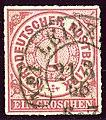 1868 NDPB 1Gr Leipzig Hufeisen Mi4.jpg