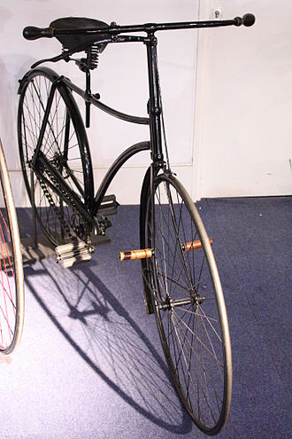 History of the bicycle - 1886 Swift Safety Bicycle
