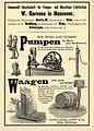 1896 circa W. Garvens Hannover PUMPEN und WAAGEN.JPG