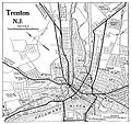 1920 map Trenton, New Jersey Automobile Blue Book.jpg