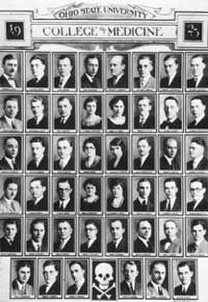Ohio State University College of Medicine - The Ohio State University College of Medicine Class of 1923