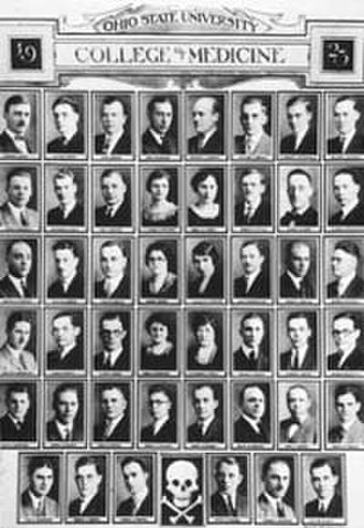 Ohio State University College of Medicine - The Ohio State University College of Medicine Class of 1923