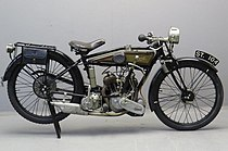 James Model 12 3½ HP (500 cc) uit 1926