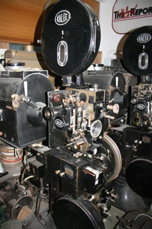 Léon Gaumont - 1930's Gaumont Kalee film Projector, Cinema Museum London