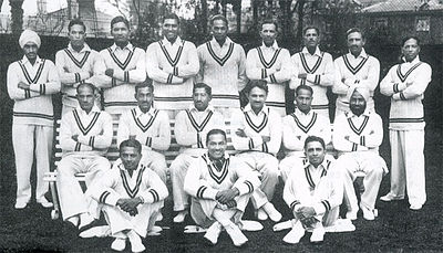 1932 Indian Test Cricket team.jpg