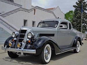 Chrysler Airstream - 1935 Chrysler Airstream Coupe
