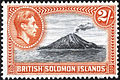 1939 2 shilling British Solomon Islands stamp.jpg