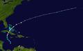 1945 Atlantic hurricane 11 track.png