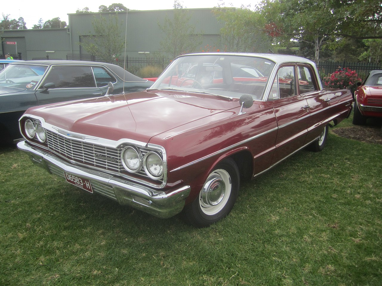 All Chevy chevy bel air 1964 : File:1964 Chevrolet Belair Sedan (2).jpg - Wikimedia Commons