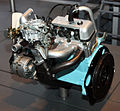1966 Toyota K Type engine rear.jpg