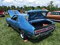 1972 AMC Javelin AMX 401 4-speed in Jetset Blue at 2015 AMO show 3of5.jpg