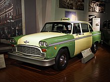 23431f9021996 1982 Model A11 this vehicle is the last Checker taxicab ever made