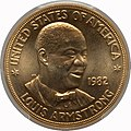 1982 Louis Armstrong One-Ounce Gold Medal (obv).jpg