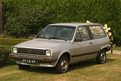 Volkswagen Polo II hatchback przed liftingiem