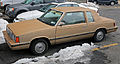 1984 Dodge Aries coupe front left.jpg
