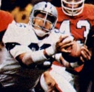 Super Bowl XII - Johnson's touchdown catch gave Dallas a 20-3 lead over Denver.