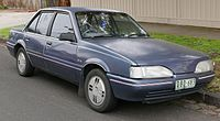 1987 Holden Camira (JD) SLE sedan (2015-07-14) 01.jpg