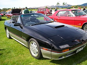 Mazda RX-7 - 1988 Mazda RX-7 Convertible (FC)
