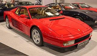 Ferrari Testarossa Mid-engine sports car manufactured by Italian automobile manufacturer Ferrari as a successor to the BB 512i from 1984–1996